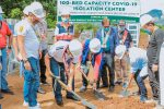 Bangsamoro Government Starts Construction of Another 100-Bed Isolation Center